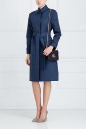 Хлопковое пальто Victoria Beckham