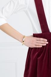 Позолоченный браслет из латуни с говлитом Lizzie Fortunato
