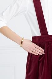 Позолоченный браслет с агатом Lizzie Fortunato