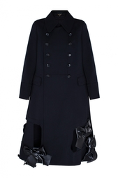 Шерстяное пальто Comme des Garcons