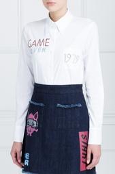 Хлопковая рубашка Lounes American Retro