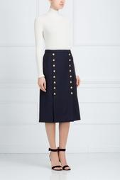 Кашемировая юбка Michael Kors
