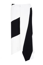 Черно-белая юбка Victoria Beckham