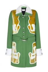 Шерстяное пальто Peter Pilotto