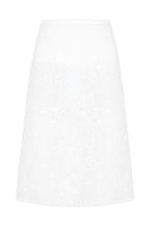 Однотонная юбка Nina Ricci