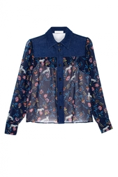 Хлопковая рубашка See By Chloe