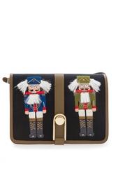 Хлопковая сумка Victoire Nutcracker Olympia Le Tan
