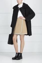 Однотонное пальто Muveil