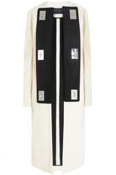 Пальто из вискозы и хлопка Proenza Schouler