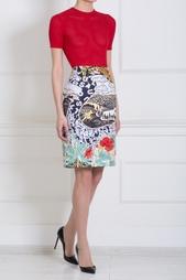 Прямая юбка с принтом Mary Katrantzou