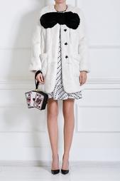 Пальто из меха кролика Marc Jacobs
