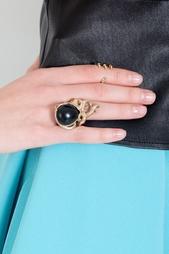 Бронзовое кольцо с ониксом Bernard Delettrez