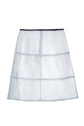 Прозрачная юбка Jil Sander Navy