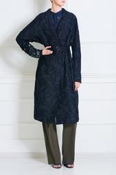 Пальто из шелка и хлопка Cristy Damir Doma