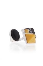 Посеребренное кольцо с полудрагоценными камнями Eddie Borgo