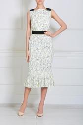 Хлопковое платье Olympia Le Tan