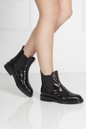 Ботинки из лакированной кожи Marni
