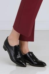 Кожаные ботинки Sergio Rossi