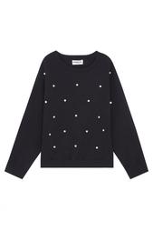 Хлопковый пуловер Essentiel