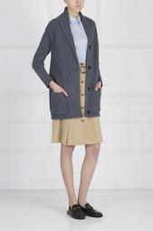 Однотонная юбка Michael Kors