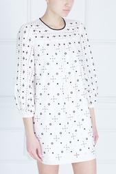Хлопковое платье Marc Jacobs