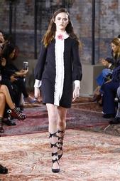 Платье из шелка и шерсти Gucci