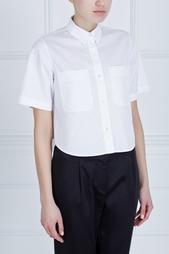 Однотонная рубашка T by Alexander Wang