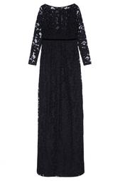 Платье в пол Burberry