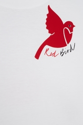 Хлопковая футболка Red Valentino