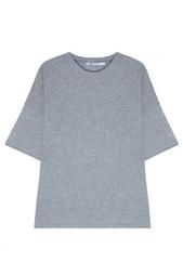 Однотонная футболка T by Alexander Wang