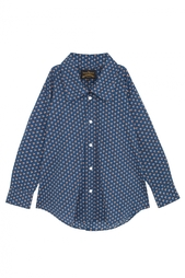 Хлопковая блузка Oversized Dryad Vivienne Westwood Anglomania