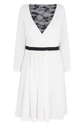 Шерстяное платье с запа́хом Diane von Furstenberg