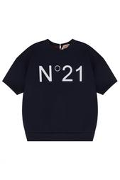 Футболка с принтом No.21
