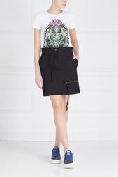 Хлопковая юбка Zipper Skirt Vivienne Westwood Anglomania