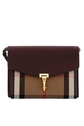 Кожаная сумка Sm Macken Burberry