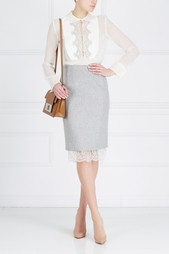 Шелковая блузка Gabriela Hearst