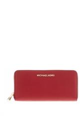 Кожаный кошелек Jet Set Michael Michael Kors