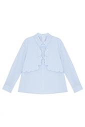 Однотонная блузка Vivetta