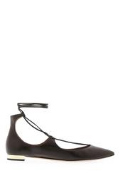 Кожаные туфли Christy Aquazzura