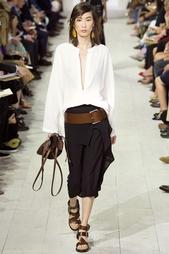 Шелковая юбка Michael Kors