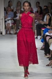 Кружевное платье Oscar de la Renta