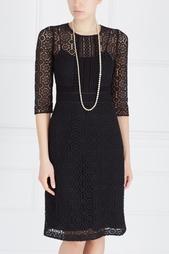 Однотонное платье Burberry