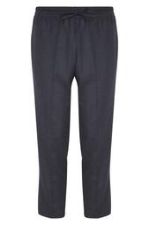 Однотонные брюки Valentino