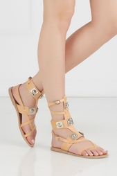 Кожаные сандалии Low Gladiator Ancient Greek Sandals