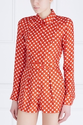 Шелковая блузка Carven