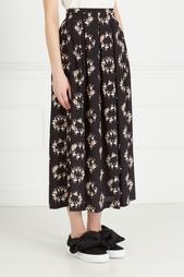 Шелковая юбка Rochas