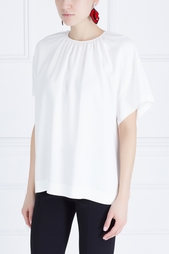 Однотонная блузка Rochas