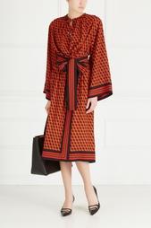 Шелковое платье Michael Kors