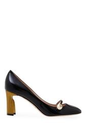 Туфли из лакированной кожи Gucci
