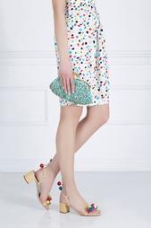 Сумка с вышивкой Boutique Moschino